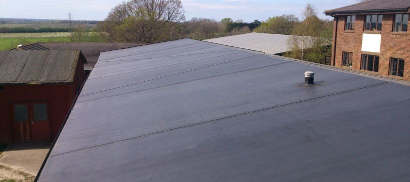 Bethany School Roof Refurbishment – RubberBond Fleeceback