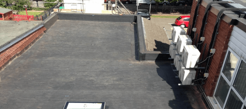 St Elizabeth's School Roof Refurbishment – RubberBond Fleeceback
