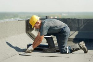 sealing a flat roof
